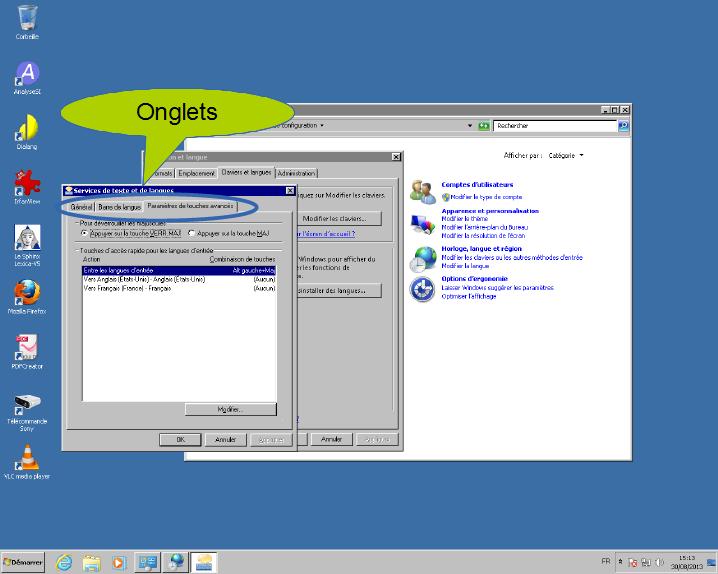 Présentation De Windows7 Vocabulaire Lié à Une Fenêtre Et Au Bureau